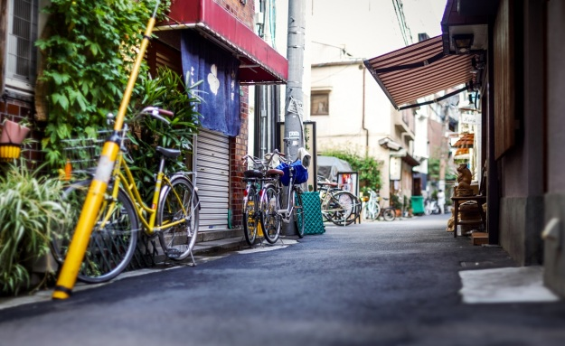 Rue d'Osaka, Japon