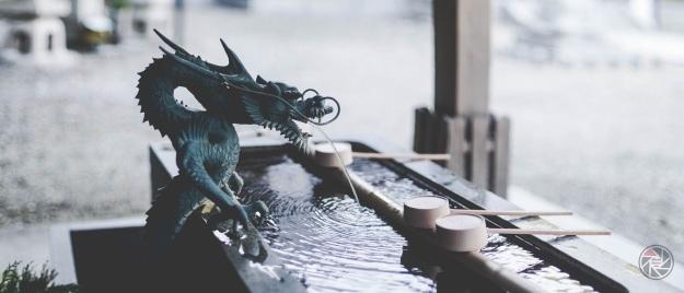 Osaka Minoo dragpn fontaine