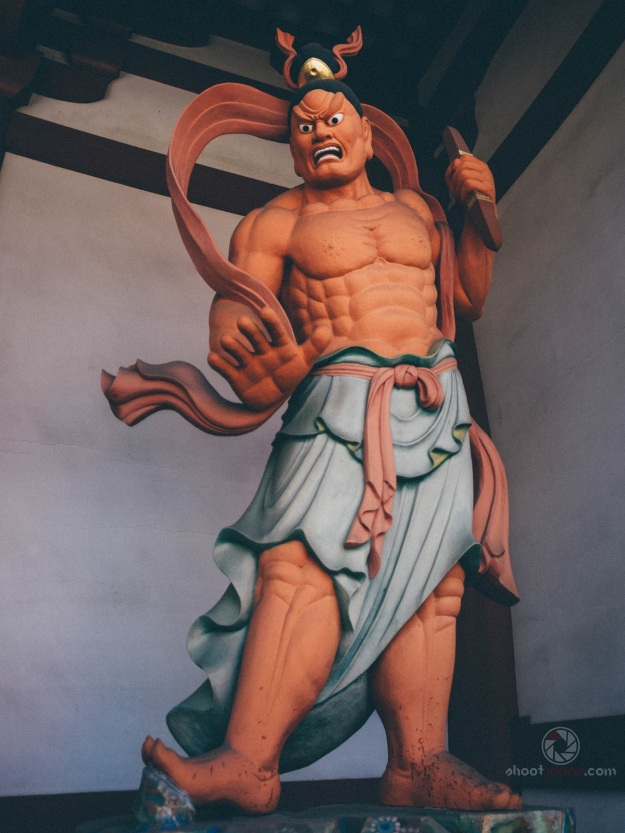 statue shitennouji