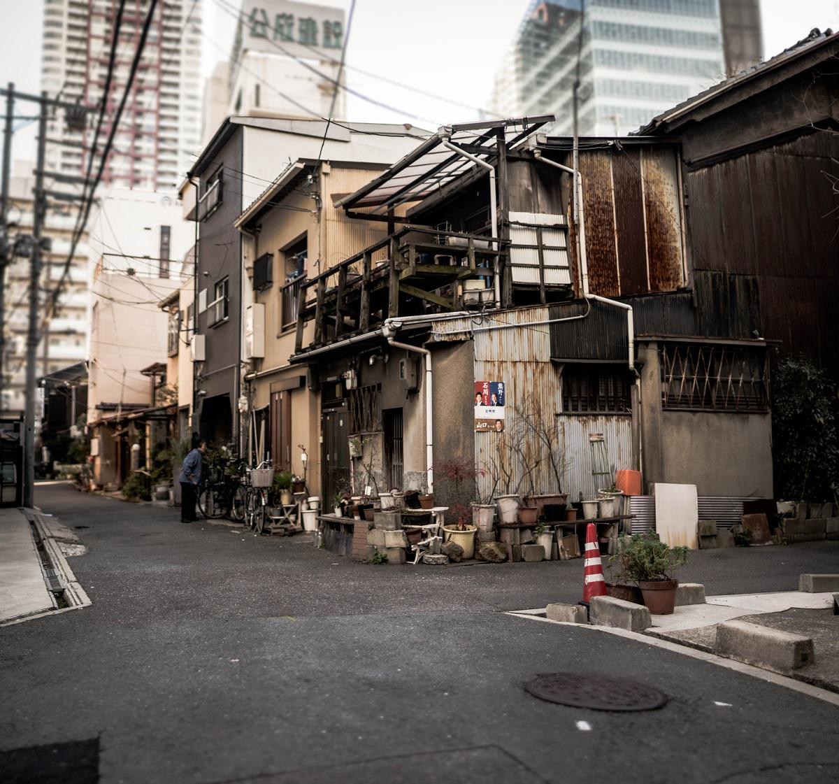 Osaka street, Japan