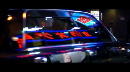 Taxi Osaka Japon