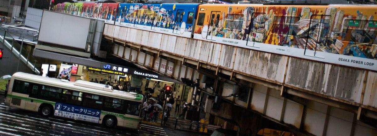 JR Osaka Japon