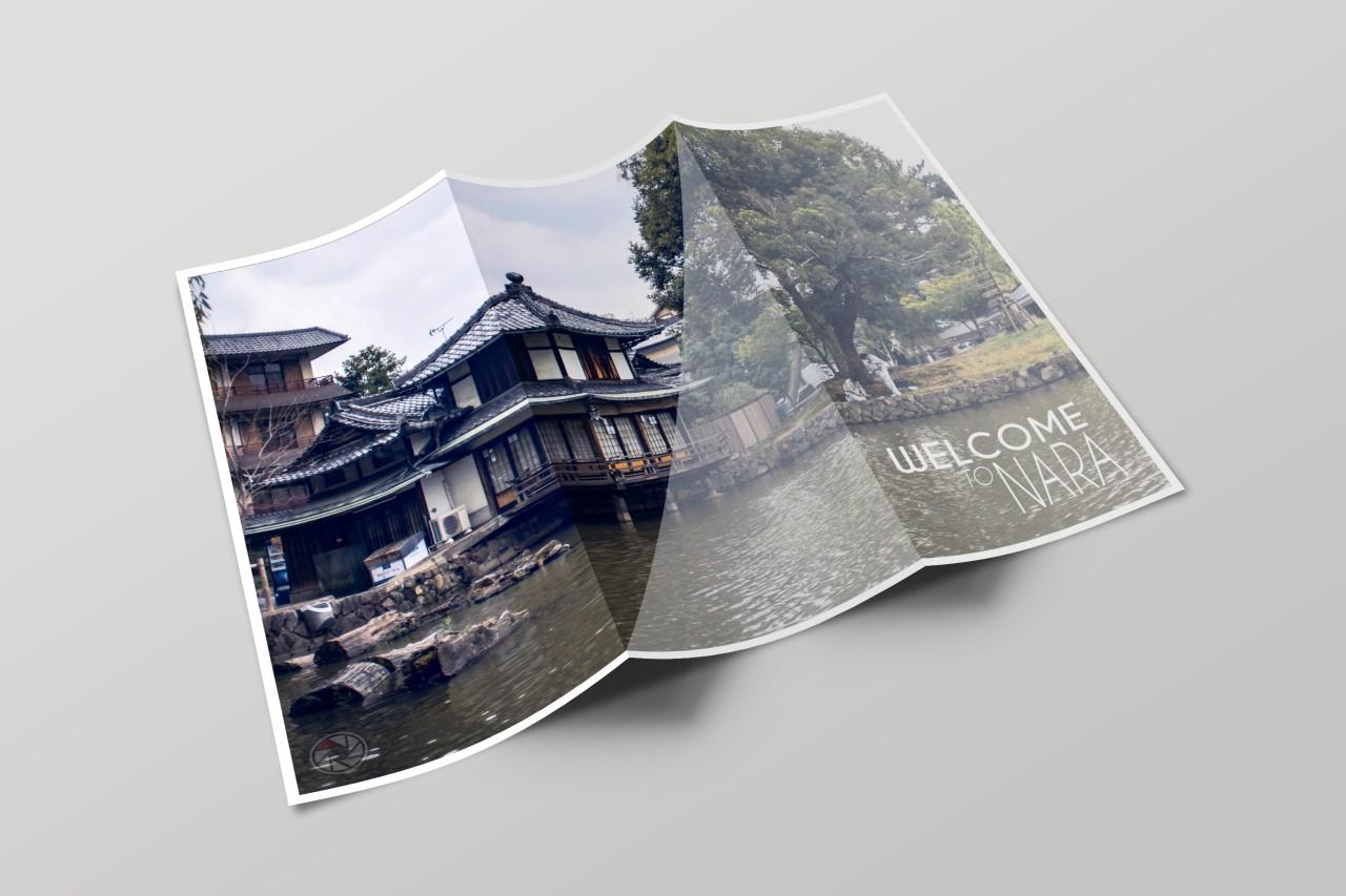 Osaka Nara Japon mockup