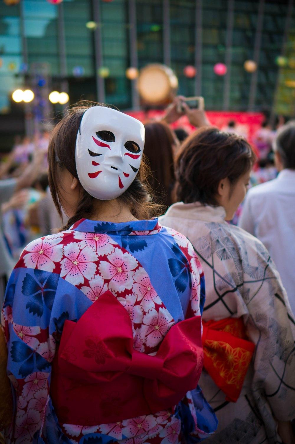 Osaka, Japon, Bon odori