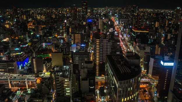 Osaka toits nuit