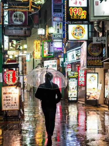 Osaka de nuit