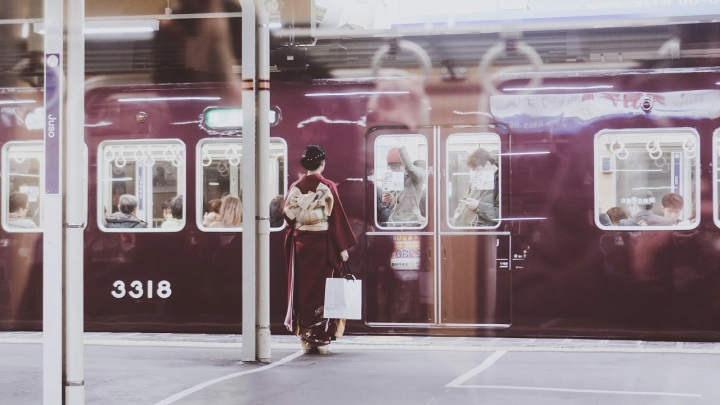 osaka japon kimono